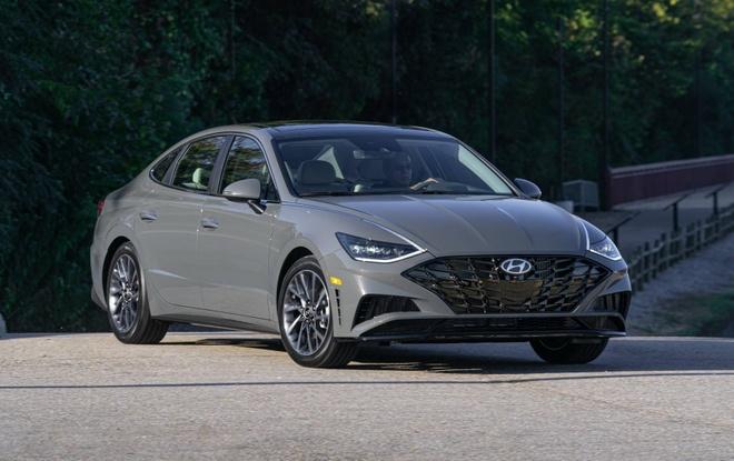 Hyundai Sonata 2020 dat hon ban cu, them trang bi hinh anh 7