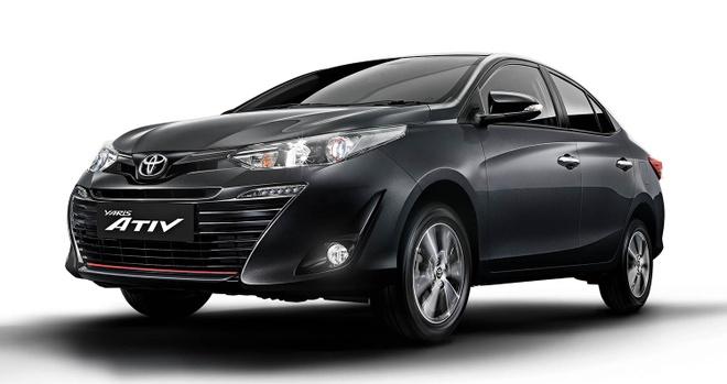 Toyota Yaris Ativ 2020 ra mat thi truong Thai Lan anh 1