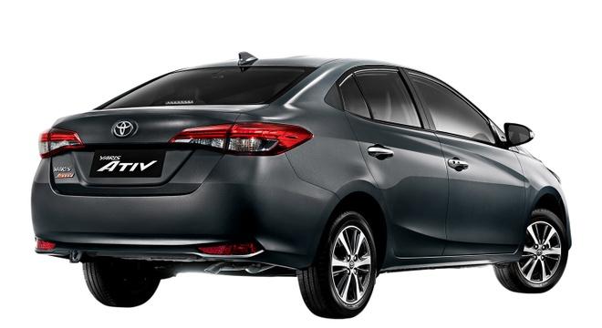 Toyota Yaris Ativ 2020 ra mat thi truong Thai Lan anh 3