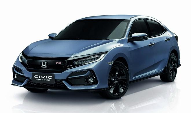 Honda Civic Hatchback 2019 nang cap tai Thai Lan, gia 40.527 USD hinh anh 1