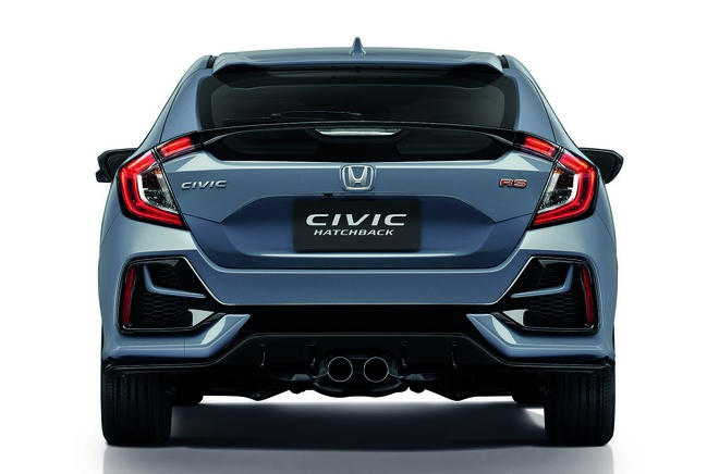 Honda Civic Hatchback 2019 nang cap tai Thai Lan, gia 40.527 USD hinh anh 2