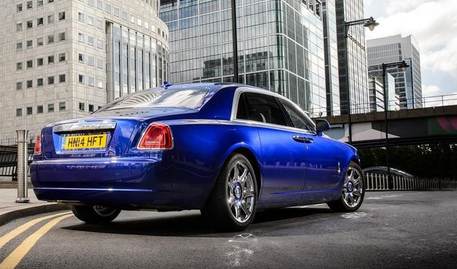 Rolls-Royce Ghost cham dut san xuat anh 2