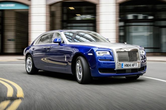 Rolls-Royce Ghost cham dut san xuat anh 1
