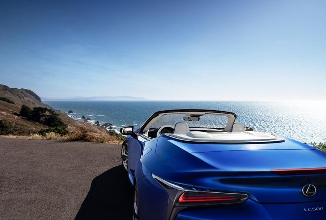 Lexus LC 500 mui tran ra mat tai Los Angeles Auto Show 2019 hinh anh 9