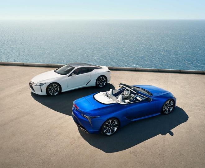 Lexus LC 500 mui tran ra mat tai Los Angeles Auto Show 2019 hinh anh 2