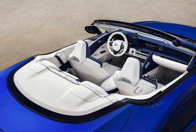 Lexus LC 500 mui tran ra mat tai Los Angeles Auto Show 2019 hinh anh 3