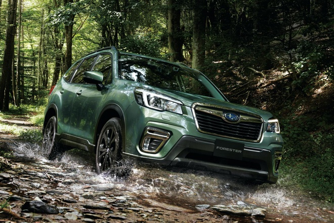 Subaru Forester X-Edition 2020 voi noi that chong nuoc hinh anh 1