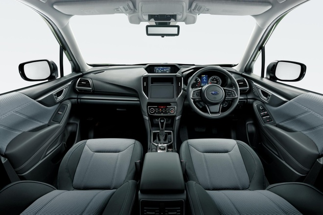 Subaru Forester X-Edition 2020 voi noi that chong nuoc hinh anh 5