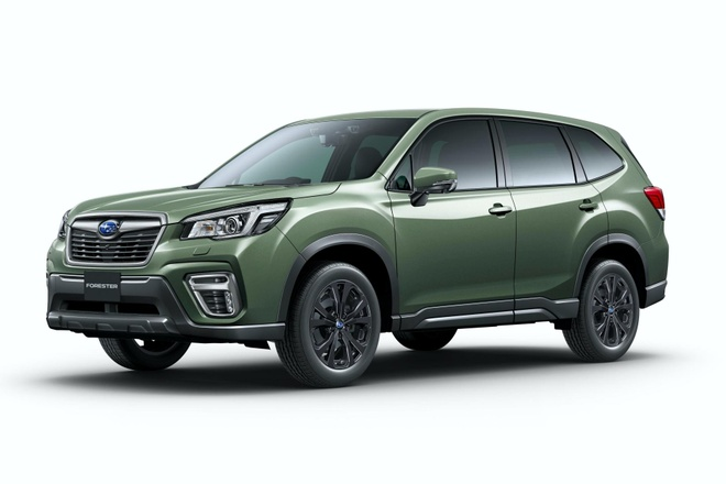 Subaru Forester X-Edition 2020 voi noi that chong nuoc hinh anh 6