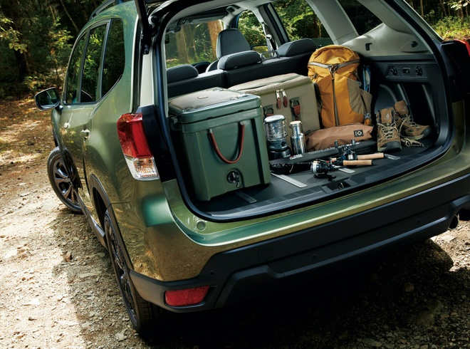 Subaru Forester X-Edition 2020 voi noi that chong nuoc hinh anh 4