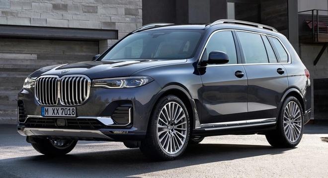 Danh bai Mercedes va Lexus, xe sang BMW ban chay nhat thi truong My hinh anh 1 2019_BMW_X7.jpg