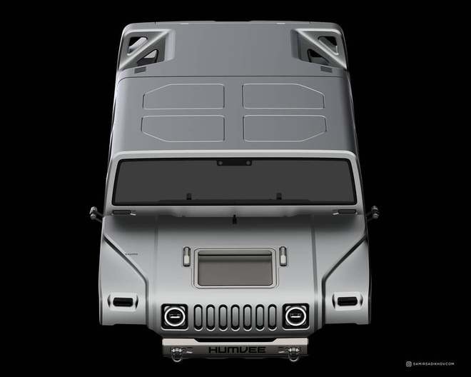 Hummer H1 2025 la lam trong thiet ke moi anh 4
