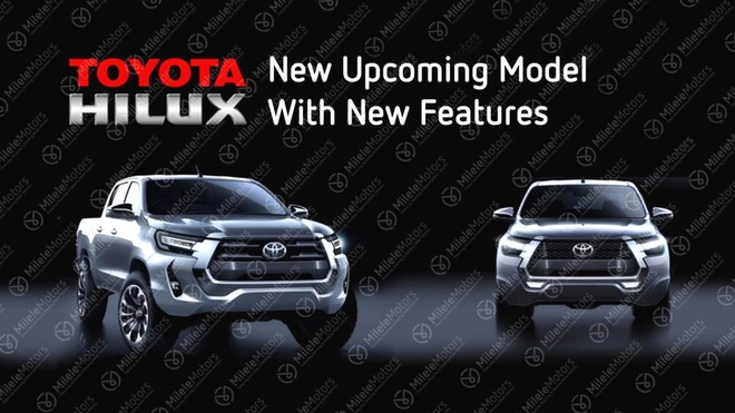 Toyota Hilux 2021 so huu dong co diesel 2.8L manh me hon anh 1