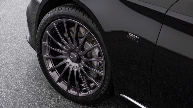 Mercedes-Maybach S650 phien ban Bong Dem anh 3
