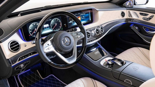 Mercedes-Maybach S650 phien ban Bong Dem anh 5