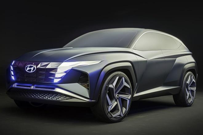 Hyundai Tucson 2021 lo man hinh cam ung co lon anh 3
