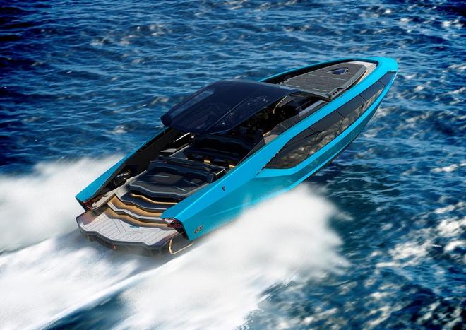 Lamborghini không phải hãng xe đầu tiên sản xuất du thuyền nhưng thiết kế sang trọng tột độ của Tecnomar for Lamborghini 63 đã tạo nên sự khác biệt.