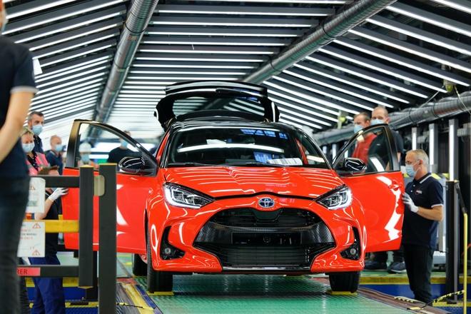 Toyota Yaris 2021 bat dau duoc san xuat tai Phap anh 1