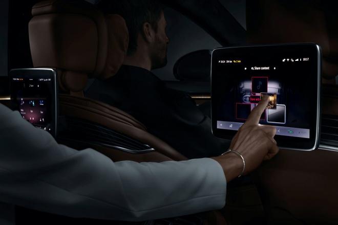 Mercedes lo dien khoang lai hien dai cua S-Class 2021 anh 13
