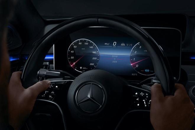 Mercedes lo dien khoang lai hien dai cua S-Class 2021 anh 11
