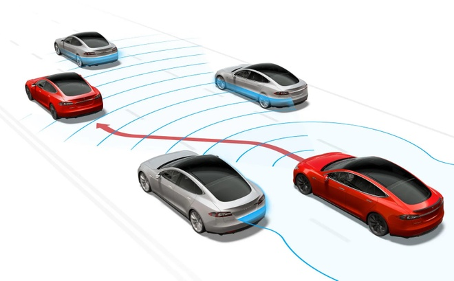 Elon Musk noi xe dien Tesla sap khong can tai xe anh 2
