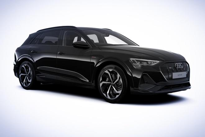 Audi ra phien ban e-tron Black Edition 2021 anh 1
