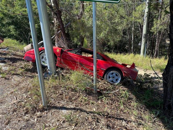 sieu xe hiem Ferrari gap nan anh 1