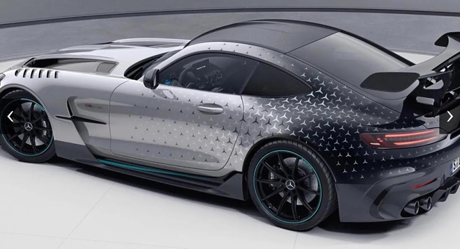 Mercedes-AMG GT Black Series ra ban dac biet anh 3