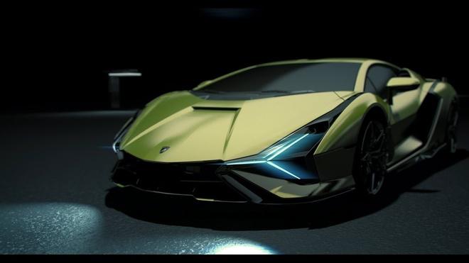 Lamborghini cong bo he thong lam mat tu hanh tren sieu xe anh 2