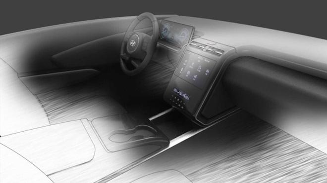 Hyundai Tucson 2021 lo dien hinh anh khoang lai anh 1