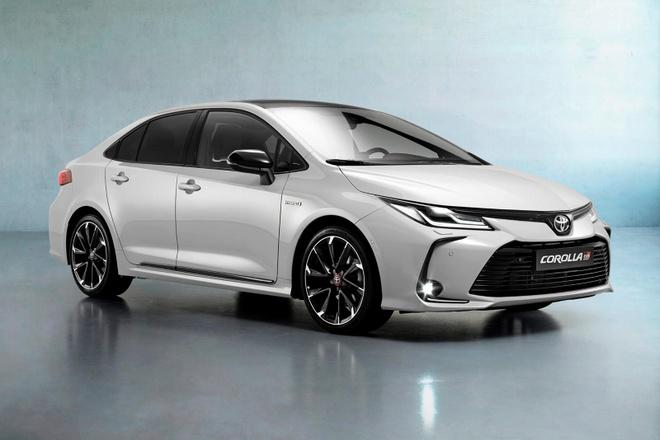 Toyota Corolla Sedan 2020 them goi trang bi the thao anh 2