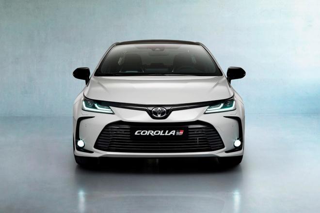 Toyota Corolla Sedan 2020 them goi trang bi the thao anh 1