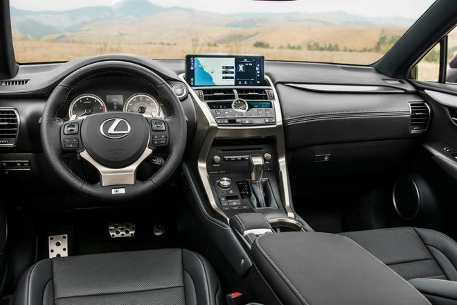 Lexus NX 2021 nang cap nho,  dong co khong doi anh 2