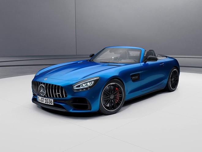 ban nang cap Mercedes-AMG GT 2021 ra mat anh 6