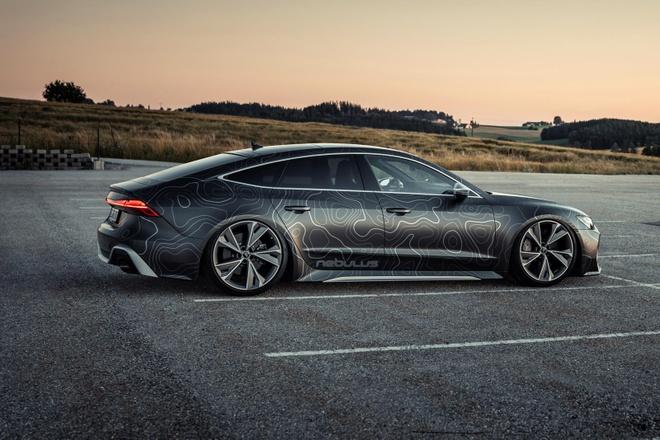 Audi RS7 Sportback ban do manh hon sieu xe anh 7