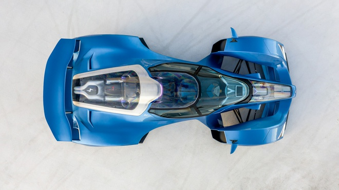 hang xe Phap bat ngo ra mat sieu xe hybrid nhanh nhat the gioi anh 3