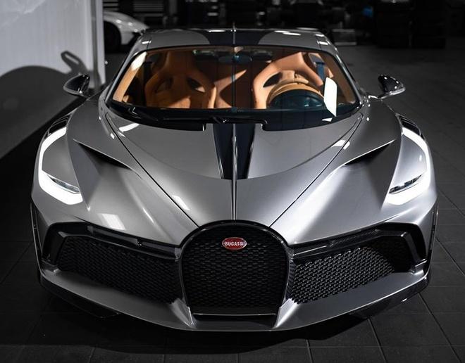 sieu xe Bugatti Divo dau tien toi My anh 1