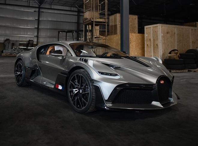 sieu xe Bugatti Divo dau tien toi My anh 3