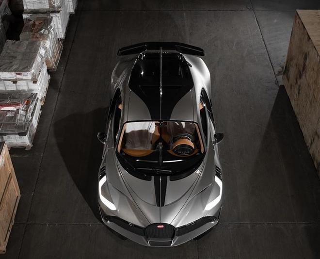 sieu xe Bugatti Divo dau tien toi My anh 7