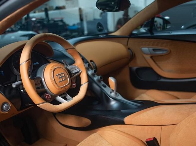 sieu xe Bugatti Divo dau tien toi My anh 4