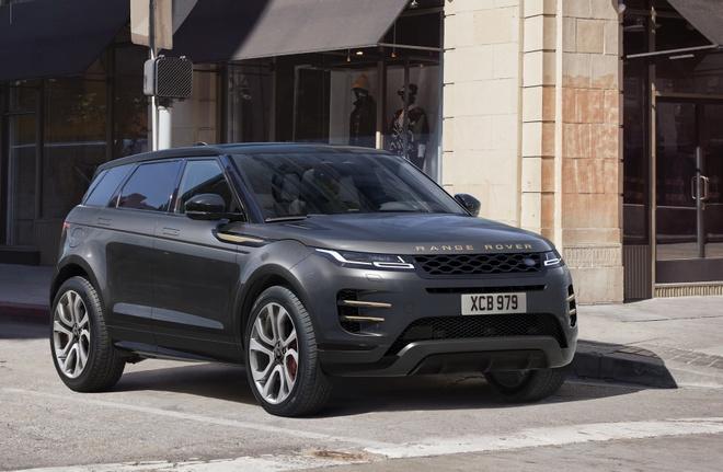 Range Rover Evoque 2021 nang cap dong co anh 1