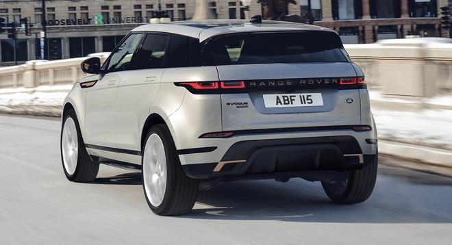 Range Rover Evoque 2021 nang cap dong co anh 3