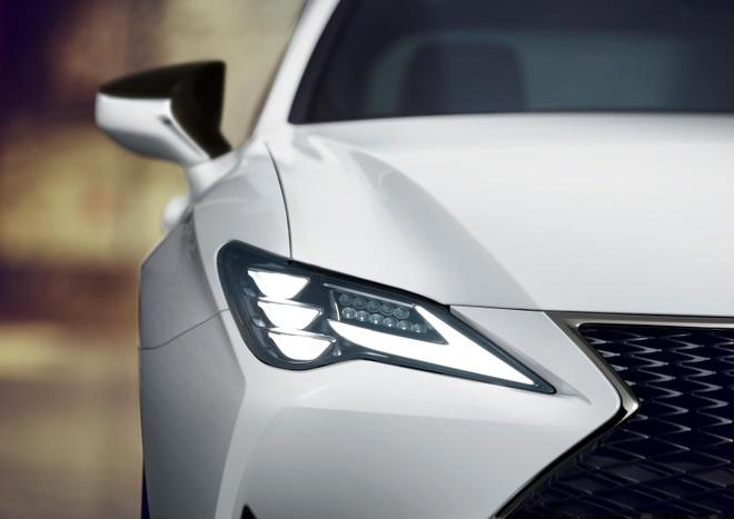 Lexus RC 2021 them ban ngoai that toi mau anh 2