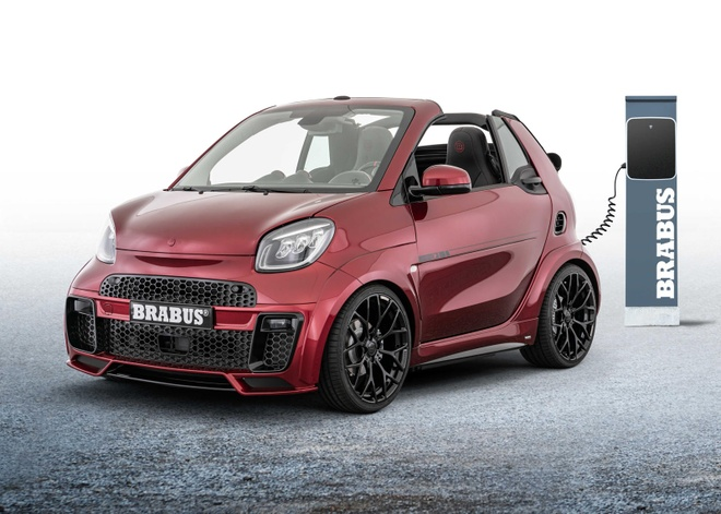 Brabus ra mat oto dien the thao chay pho anh 2