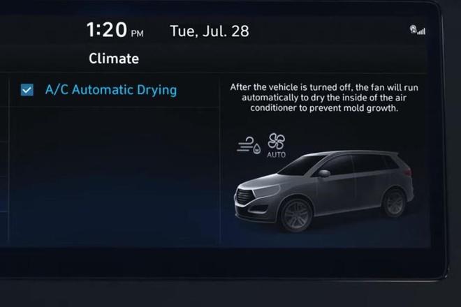 Hyundai Tucson 2021 so huu he thong dieu hoa thong minh anh 6