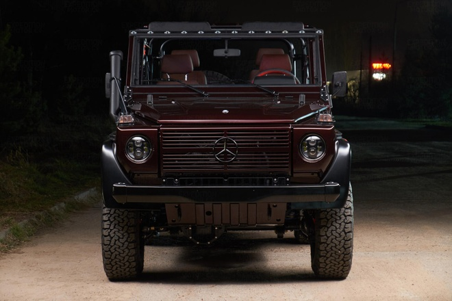 Mercedes G-Class co co gia ngang xe moi anh 2