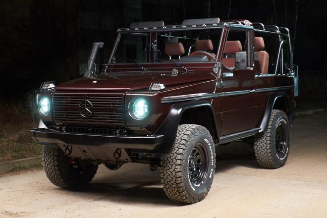 Mercedes G-Class co co gia ngang xe moi anh 1
