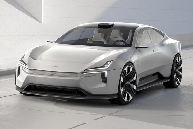 Polestar Precept san sang canh tranh voi Tesla Model S hinh anh