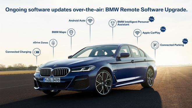 Nhiều tính năng trên xe BMW được nâng cấp lớn.