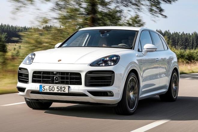 Porsche nang cap Cayenne E-Hybrid 2021 anh 2